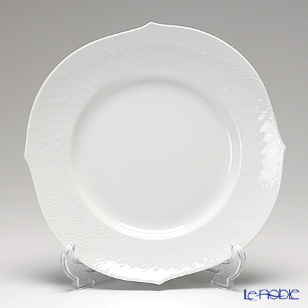 Meissen Waves Relief White 000000 / 29472 22.5 Cm plate