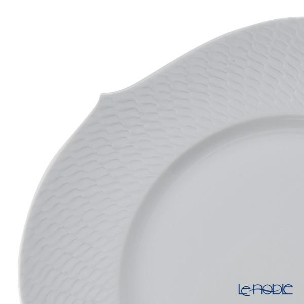 マイセン(Meissen) 波の戯れホワイト 000001/29478サービスプレート 32.5cm