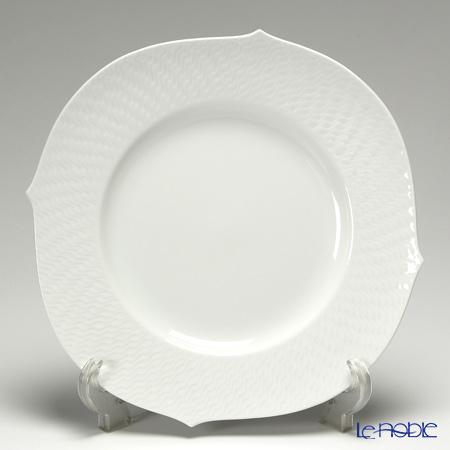 Meissen 'Waves Relief' White 000000/29479 Plate 28cm
