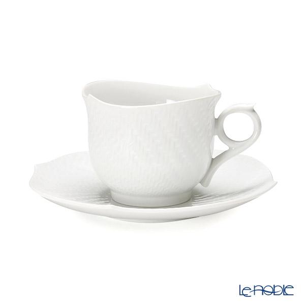 マイセン(Meissen) 波の戯れホワイト 000001/29586 モーニングカップ&ソーサー