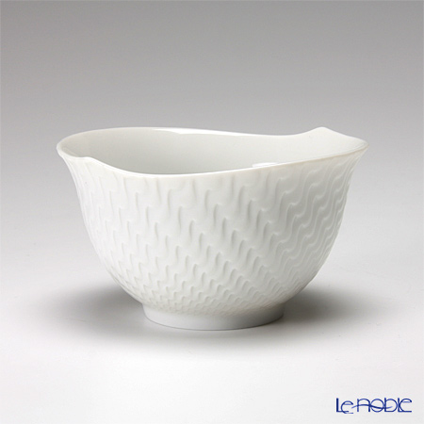 マイセン(Meissen) 波の戯れホワイト 000001/29620 スモールカップ 4.9cm