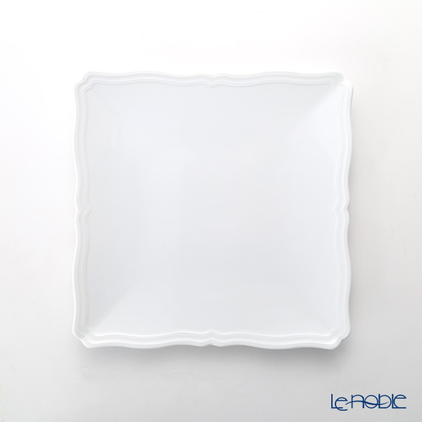 Richardsinori (Richard Ginori) Antico Bianco Square plate 22 cm