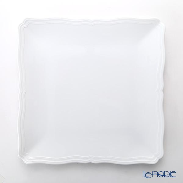 Richardsinori (Richard Ginori) Antico Bianco Square plate 30 cm
