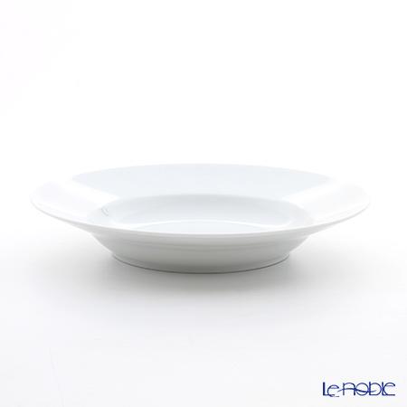 Richard Ginori 'Impero' White Soup Plate 24cm