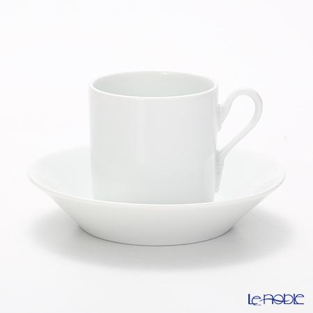 ジノリ1735/リチャード ジノリ(GINORI 1735/Richard Ginori) インペロホワイト コーヒーカップ&ソーサー 115cc