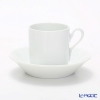 Richard Ginori Impero white Coffee Cup & Saucer 115 cc