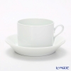 Richard Ginori Impero white Tea Cup & Saucer 220 cc
