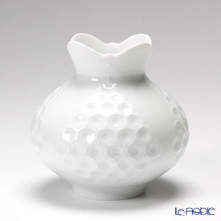 マイセン(Meissen) ホワイトレリーフ 000001/50139 ベース(花瓶)