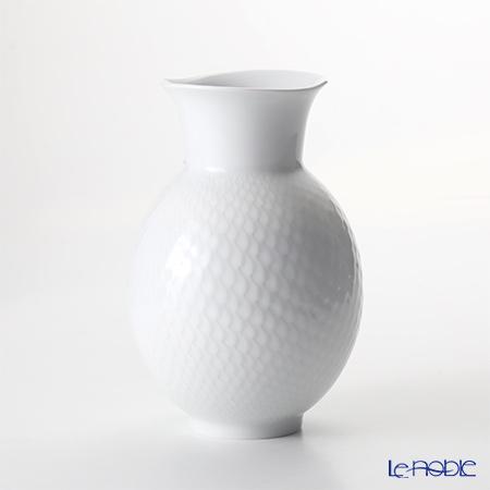 マイセン(Meissen) 波の戯れホワイト 000001/50226 ベース(花瓶) 50226