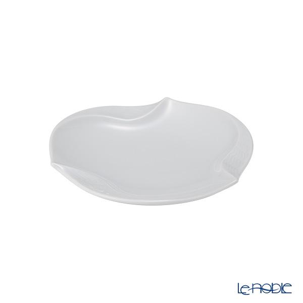 マイセン(Meissen) 波の戯れホワイト 000001/53574ギフトプレート 12.5cm