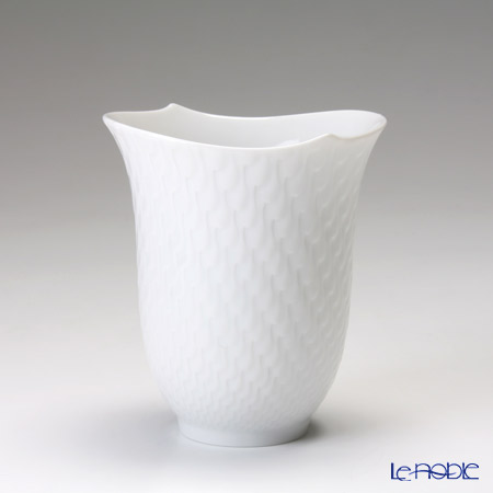 Meissen 'Waves Relief' White 000001/55404 Beaker / Tumbler 290ml