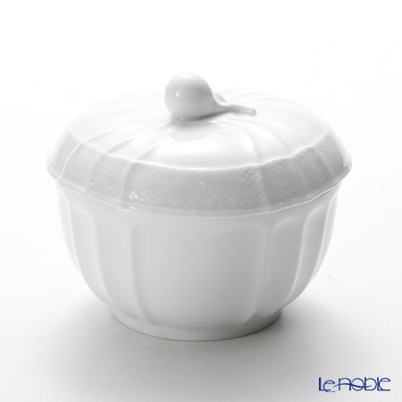 Richardsinori (Richard Ginori) Vecchio Bianco Biscuit bowls (with lid and handle myriad)