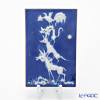 マイセン(Meissen) 陶板 青のメルヘン 930005/9p331ブレーメンの音楽隊 13.5×7cm(額無)