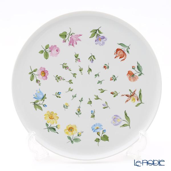 アウガルテン(AUGARTEN) ウィンナーフラワー飾り皿(小花散らし)