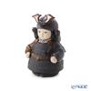 Lladro 'Warrior Boy (Samurai Armor, Sword) / Childrens' Day Japan' Black Brown 12552 Small Figurine H17.5cm