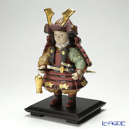 Lladro 'Warrior Boy (Samurai Armor, Sword) / Japan Childrens' Day' Red 13045 [LE3500]
