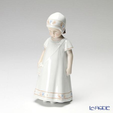 ロイヤルコペンハーゲン(Royal Copenhagen) フィギュリン 白い服のエルス 17cm 1021404