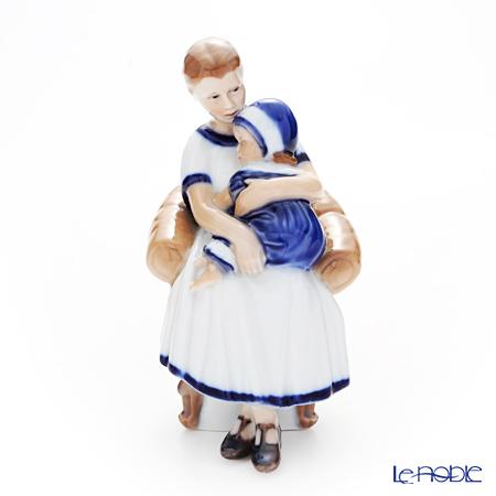 ロイヤルコペンハーゲン(Royal Copenhagen) フィギュリン エルスとママ(居眠り) 18cm 1021670