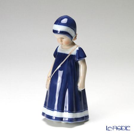 ロイヤルコペンハーゲン(Royal Copenhagen) フィギュリン 青い服のエルス 17cm 1023404