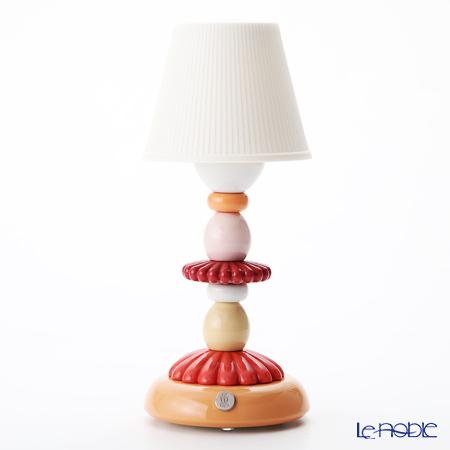 リヤドロ LOTUS FIREFLY LAMP (CORAL) 23760(28×12cm)