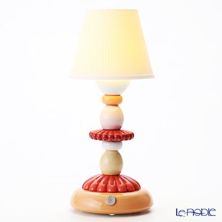 リヤドロ LOTUS FIREFLY LAMP (CORAL)23760(28×12cm)