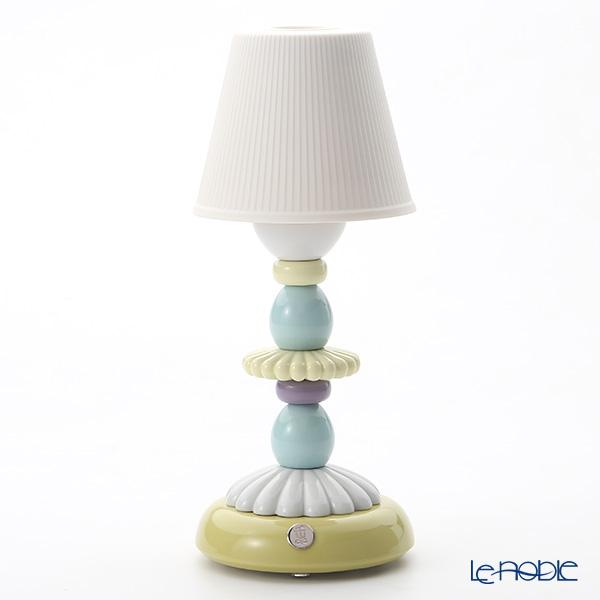 リヤドロ LOTUS FIREFLY LAMP (GREEN & BLUE) 23761(28×12cm)