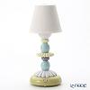 リヤドロ LOTUS FIREFLY LAMP (GREEN & BLUE)23761(28×12cm)