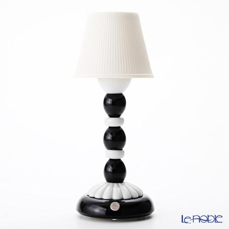 リヤドロ PALM FIREFLY LAMP (BLACK & WHITE) 23763(28×12cm)