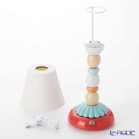 リヤドロ PALM FIREFLY LAMP (PALE BLUE)23764(28×12cm)