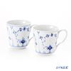 Royal Copenhagen Blue Fluted Plain Mug, 2-pack, 28 cl 1101027
