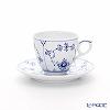 Royal Copenhagen Blue Fluted Plain Espresso cup and saucer, 10 cl 1101053