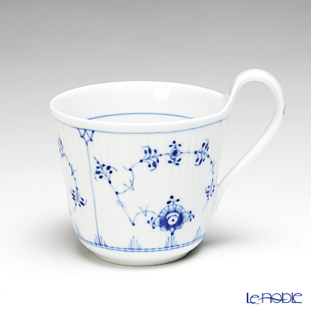 Royal Copenhagen 'Blue Fluted Plain' 1101090 High Handle Mug 330ml