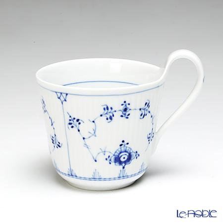 ロイヤルコペンハーゲン(Royal Copenhagen) ブルー フルーテッド プレイン ブレックファーストカップ(ハイハンドル) 1101090