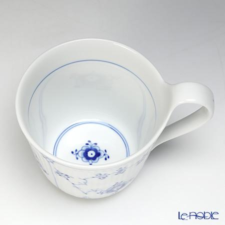 ロイヤルコペンハーゲン(Royal Copenhagen) ブルー フルーテッド プレインブレックファーストカップ(ハイハンドル) 1101090