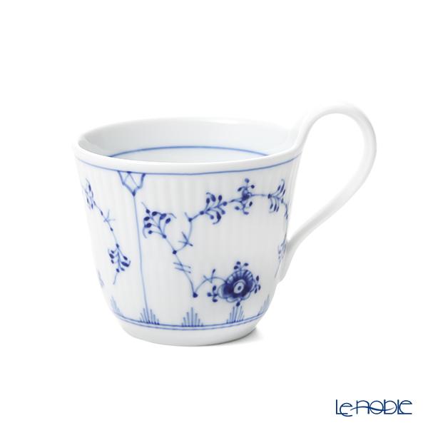 ロイヤルコペンハーゲン(Royal Copenhagen) ブルー フルーテッド プレインハイハンドル マグカップ 240ml 1101093/1056202