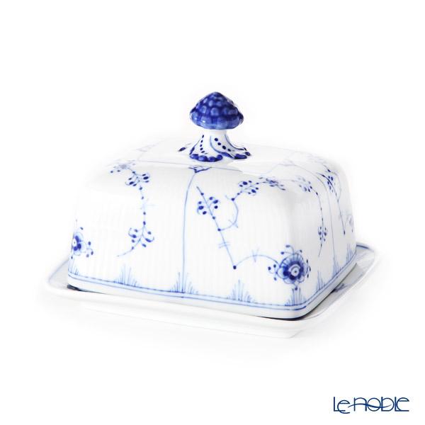 ロイヤルコペンハーゲン(Royal Copenhagen) ブルー フルーテッド プレイン バターディッシュ 1101204/1026442