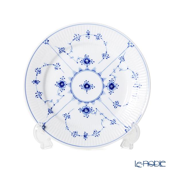 ロイヤルコペンハーゲン(Royal Copenhagen) ブルー フルーテッド プレイン プレート(フラット) 19cm 1101620/1017199