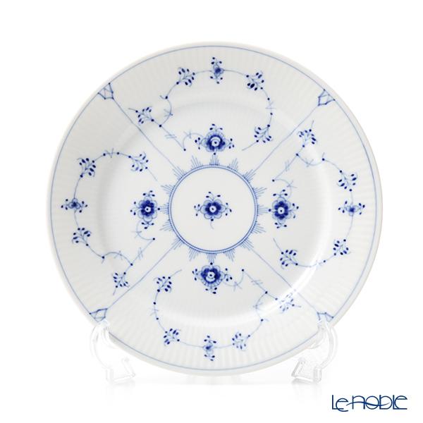 ロイヤルコペンハーゲン(Royal Copenhagen) ブルー フルーテッド プレイン プレート(フラット) 22cm 1101622/1017200