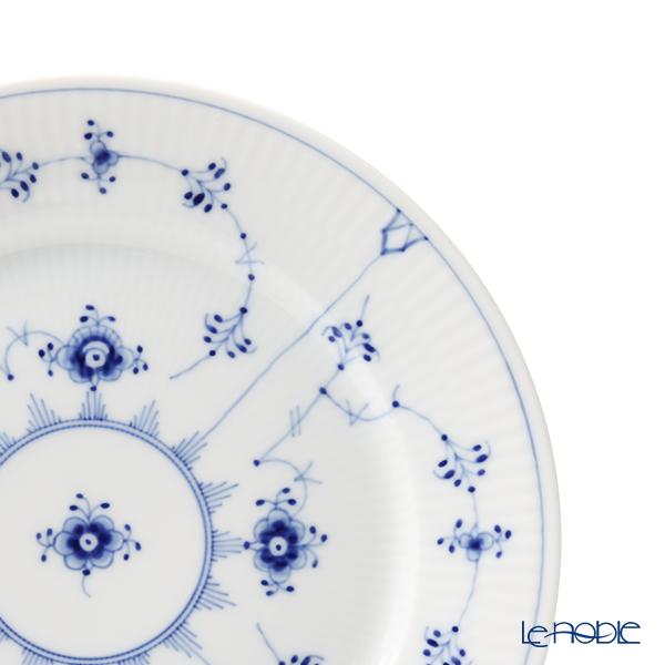 ロイヤルコペンハーゲン(Royal Copenhagen) ブルー フルーテッド プレインプレート(フラット) 22cm 1101622