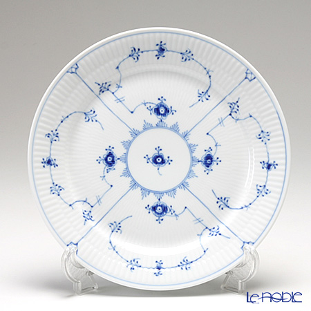 ロイヤルコペンハーゲン(Royal Copenhagen) ブルー フルーテッド プレイン プレート(フラット) 25cm 1101625/1017201