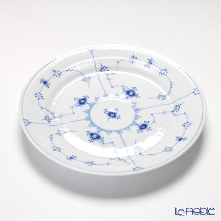 ロイヤルコペンハーゲン(Royal Copenhagen) ブルー フルーテッド プレインプレート(フラット) 25cm 1101625/1017201