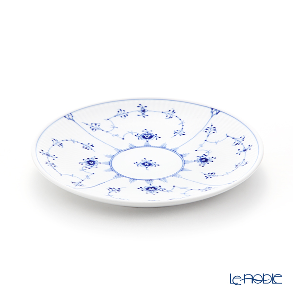Royal Copenhagen 'Blue Fluted Plain' Coupe Plate 19cm 1101729