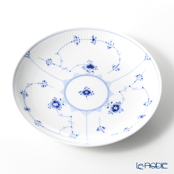 Royal Copenhagen 'Blue Fluted Plain' Deep Plate 25.5cm 1101731