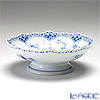 Royal Copenhagen 'Blue Fluted Half Lace' 1102427 Footed Cake Dish 17.5xH6.5cm