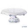 Royal Copenhagen 'Blue Fluted Half Lace' 1102434/1026609 Cake Stand 31xH13.5cm