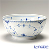 (Royal Copenhagen) Royal Copenhagen blue fluted half lace Salad Bowl (L) 10.5 x 24.5 cm 1102579