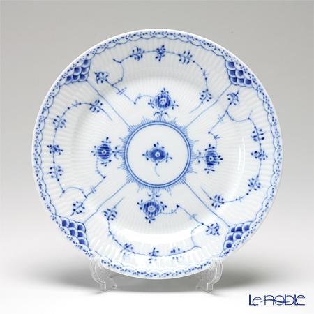 ロイヤルコペンハーゲン(Royal Copenhagen) ブルー フルーテッド ハーフレース プレート(フラット) 19cm 1102620