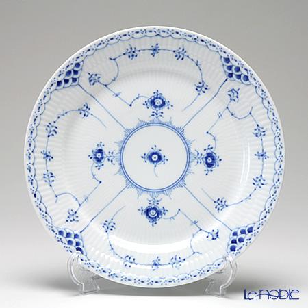 ロイヤルコペンハーゲン(Royal Copenhagen) ブルー フルーテッド ハーフレース プレート(フラット) 25cm 1102625