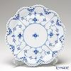 ロイヤルコペンハーゲン(Royal Copenhagen) ブルー フルーテッド フルレースケーキ皿 25cm 1103422/1017233