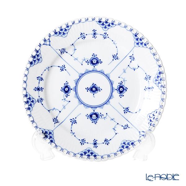 ロイヤルコペンハーゲン(Royal Copenhagen) ブルー フルーテッド フルレース プレート(フラット) 19cm 1103620/1017238